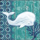 Indigo Sea V Reproduction d'art par Paul Brent