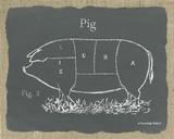 Pig on Burlap