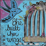 She Built Her Wings