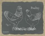 Poultry on Burlap
