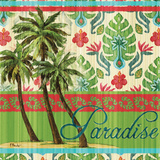 Tropical Ikat Palm I