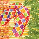 Red Sarasota Sandals I