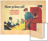 Shell Motor Oil Add  Buy Oil Cheap Clean Quick  1925