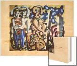 Composition aux deux p'rroquets  1935