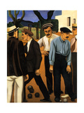 Les joueurs de boules  1923