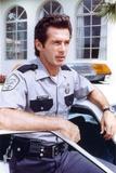 Jack Scalia in Cop Outfit Portrait