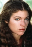 Amy Irving Looking Away from the Camera in a Close Up Portrait