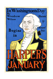 In Washington's Day by Woodrow Wilson Begins in Harper's January