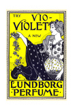 Try Vio-Violet  a New Lundborg Perfume