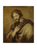 Portrait of a Man  Identified as Peter Paul Rubens  Painter and Diplomat