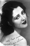Billie Dove Posed Showing Back Close Up Portrait