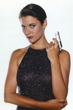 Carey Lowell posed with a Small Gun