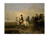 Emperor Napoleon I and His Staff on Horseback