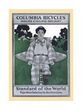Columbia Bicycles Insure Cycling Delight  Standard of the World  Pope Manufacturing Co