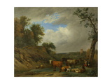 Herdsmen with their Cattle  after Paulus Potter