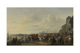 Arrival of Prince William II at the Estate Welna on the Amstel During the Attack on Amsterdam