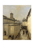 Church of Notre Dame De Lorette and the Rue Flechier  Paris
