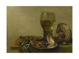 Still Life with Roemer and Silver Tazza