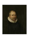 Portrait of Samuel Van Lansbergen  Remonstrant Minister in Rotterdam