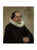 Portrait of Abraham De Potter  Amsterdam Silk Merchant
