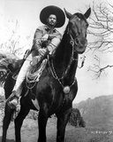 Eli Wallach in Cowboy Outfit With Horse