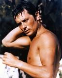 Alain Delon Posed Topless