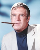 George Peppard in Tuxedo With Cigarette Portrait