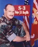 Gerald McRaney Posed in Military Attire
