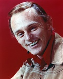 Frank Gorshin smiling with Red Shirt