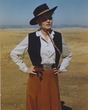 Carroll Baker Posed in Cowboy Outfit