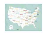 Aqua USA Map