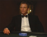 Daniel Craig Seated in Black Tuxedo