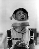 Don Knotts in Austronaut Outfit With White Background