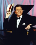 Donald O'Connor Holding Hat in Tuxedo