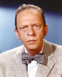 Don Knotts Close Up Portrait with Bow Tie