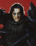Alice Cooper Portrait in Red Background