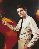 David Hedison Pose in Formal Suit