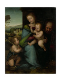 Holy Family with the Infant John the Baptist