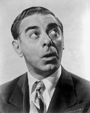 Eddie Cantor in Black With White Background
