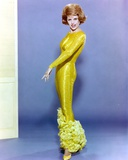 Cyd Charisse Posed in Yellow Gown