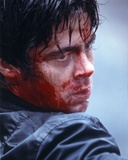 Benicio Del Toro Bleeding Close Up Portrait