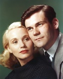 Eva Saint Couple Pose Close-up Portrait