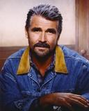 James Brolin Portrait in Blue Denim Jacket