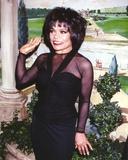 Eartha Kitt in Black Dress