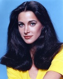 Connie Selleca in Yellow Shirt Portrait