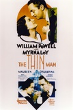 Thin Man Poster Two with William Powell and Myrna Loy