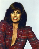 Linda Gray Portrait in Red Blouse