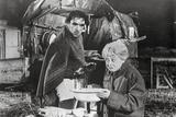 La Strada as Gelsomina and Zampano Scene