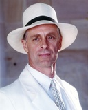 Keith Carradine Posed in White Suit
