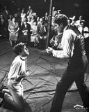 Elmer Gantry Boxing Scene in Black and White